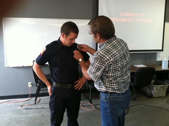 Eric House Badge Pinning 5-28-14