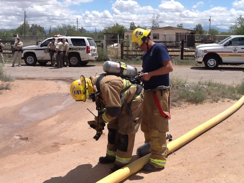 May 16, 2015  Trailer fire (2) firefighters
