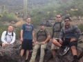 Gillmore Miller Beatty Ryder Montano hike Picacho July 2015