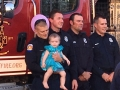 1 Yr old rescued with Firefighters