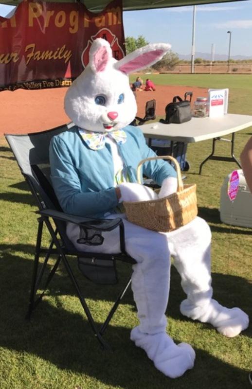 FF Jelence as Easter Bunny 2017