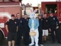 Easter Bunny with Engine 194