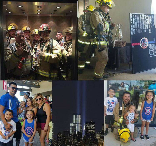 9-11 StairClimb Collage