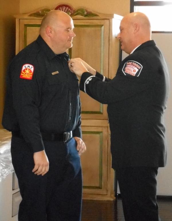 Jan 27, 2015 Captain Calhoun Badge Pinning (4)