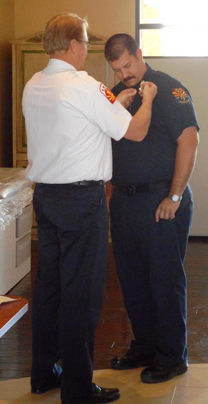 Jan 27, 2015 Captain Coody Badge Pinning (3)