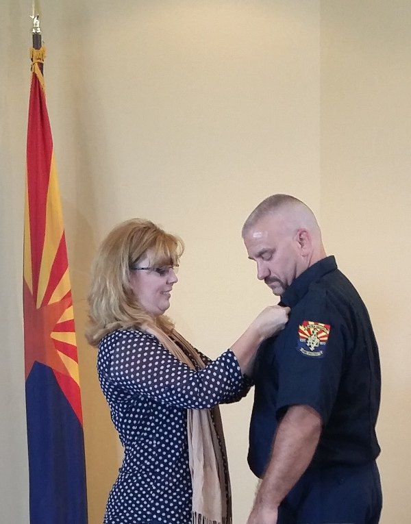 Aug 2016 wife pins Capt Tharp