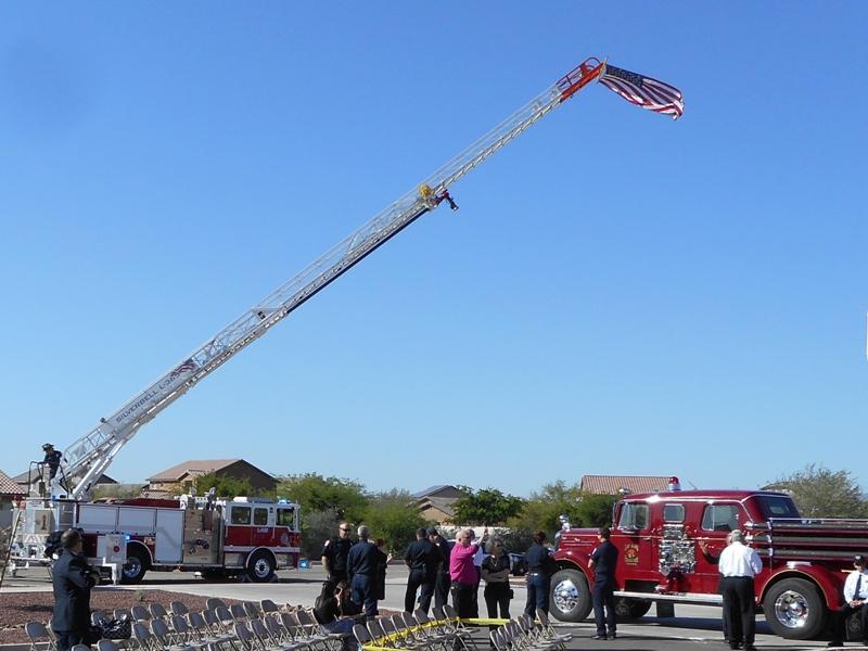 Silverbell Ladder - Flag