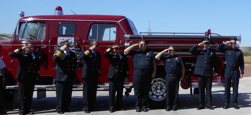 firefighter salute