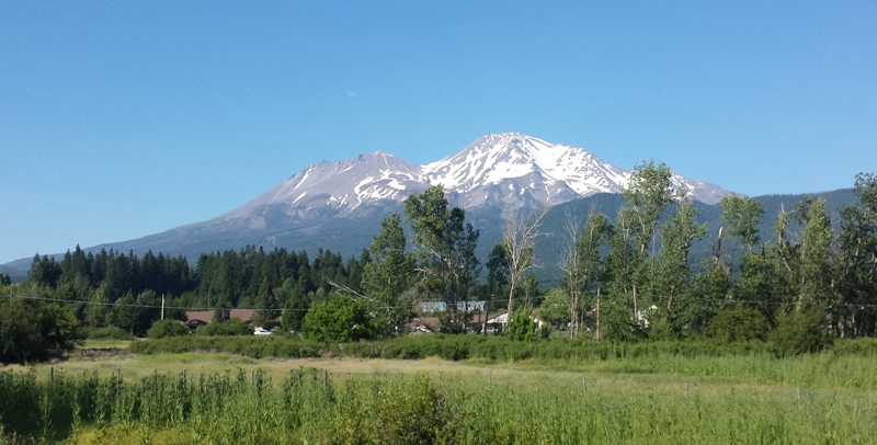 Kreitner shot Mt. Shasta