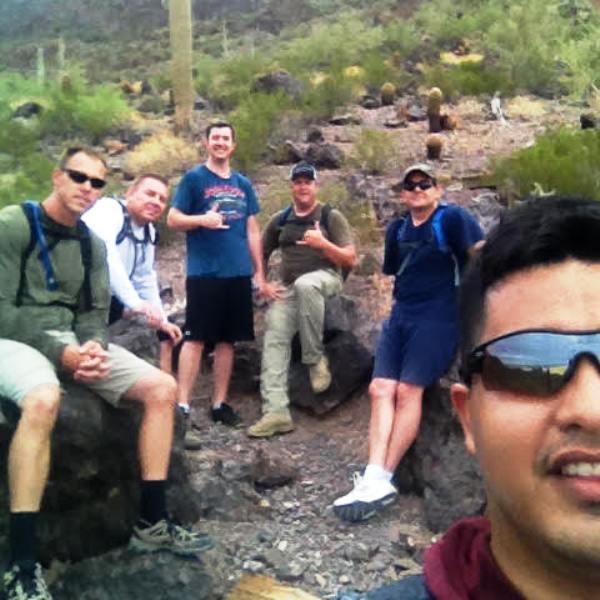 Ryder Gillmore Miller Beatty Bowden hike