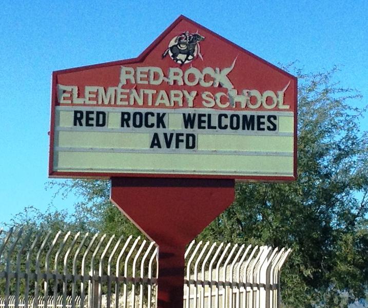RR School Welcome Sign